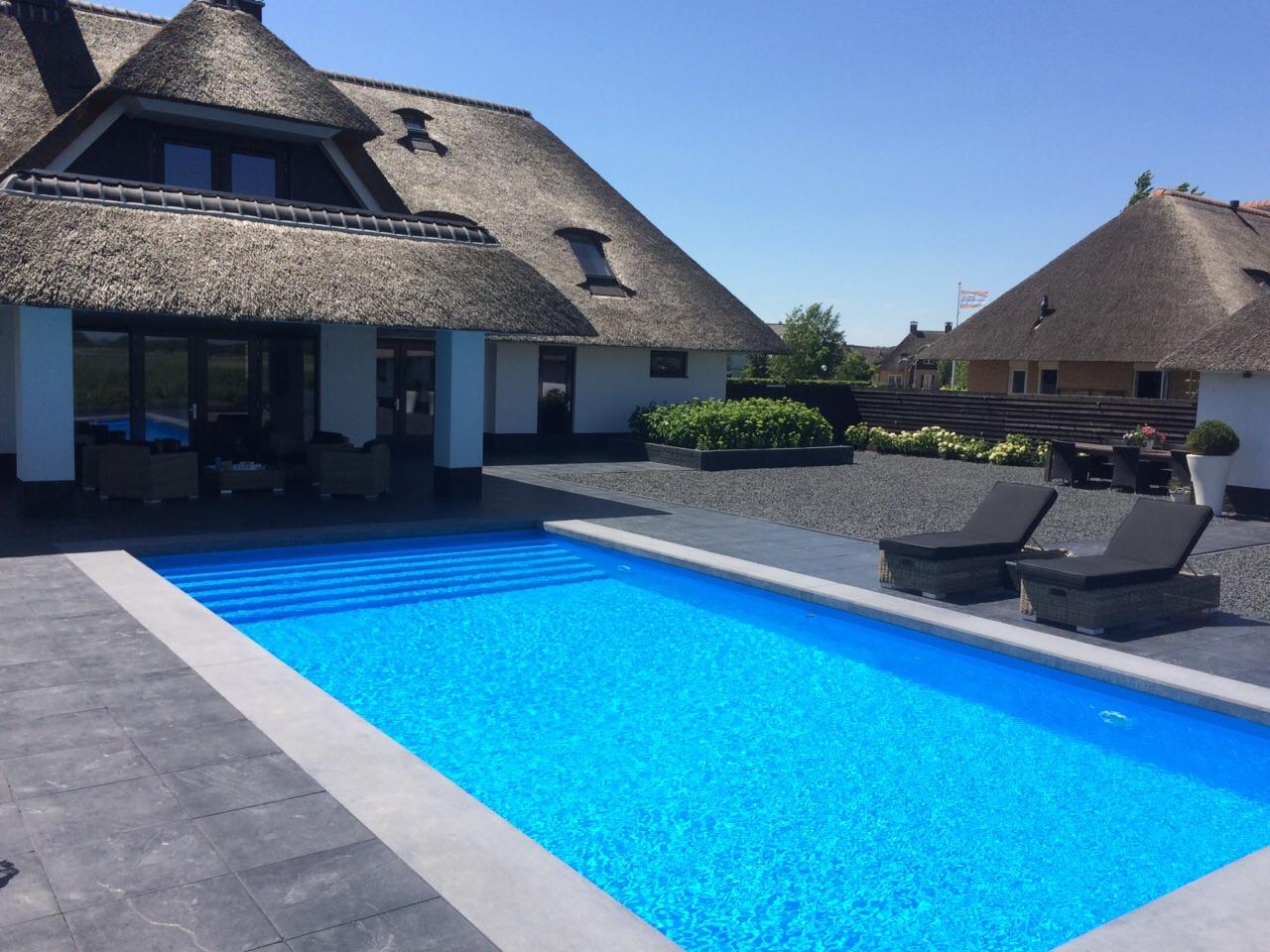 Inbouw zwembaden heerlijk thuis genieten for Inbouw zwembad compleet